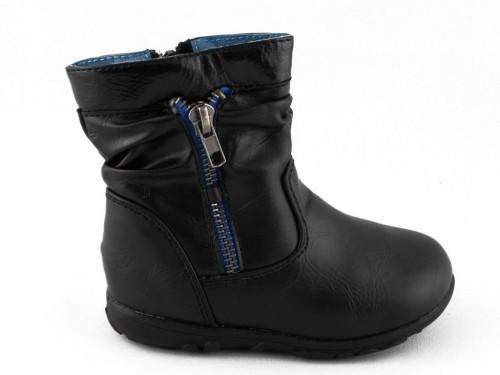 Baby Laarzen Zwart Rits One Step