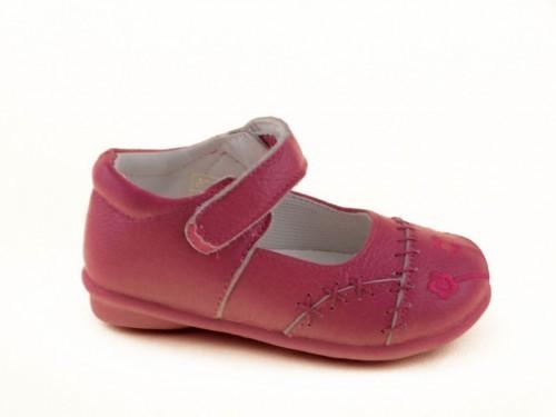 Baby Schoenen Leder Roze