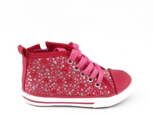 Babyschoenen Sneaker Fuxia One Step