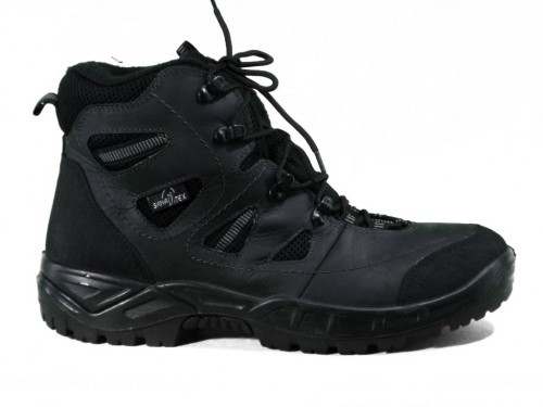 Bergschoenen Zwart Leder