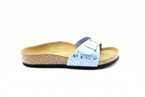 Birkenstock Madrid Kinder Glitter Blue
