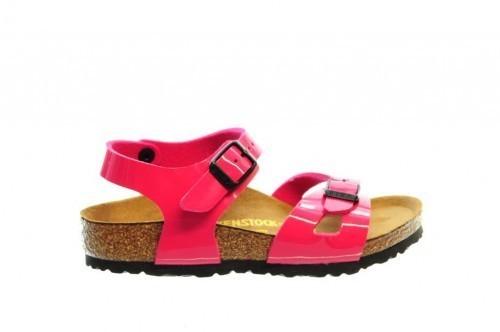 Birkenstock Rio Kinder Lack Pink