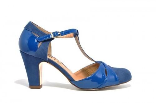 Blauwe Dames Pumps