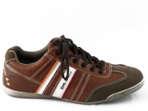 Bm Footwear Heren Cognac