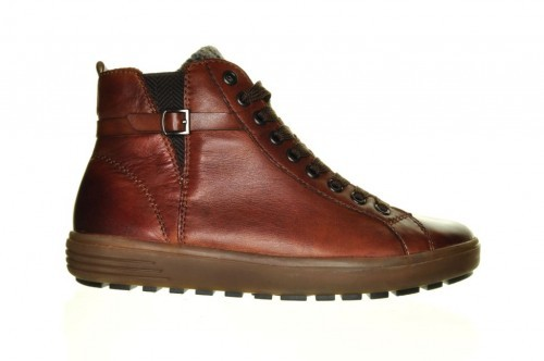 Cognac Sneaker Hoog Remonte