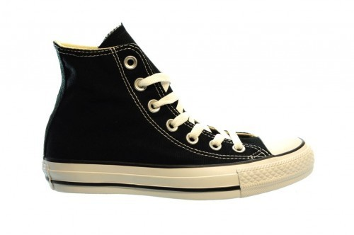 Converse All Stars Hi Black Zwart Zwarte