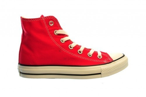 Converse All Stars Hi Red Rood Rode