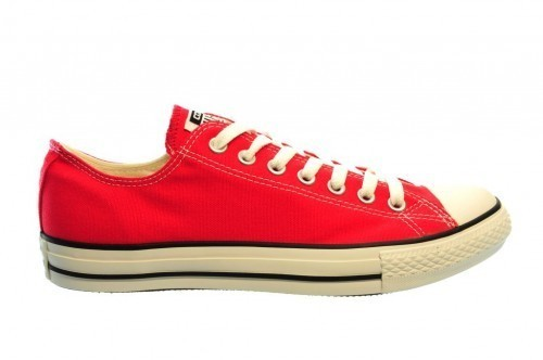 Converse All Stars Ox Red Rood Rode