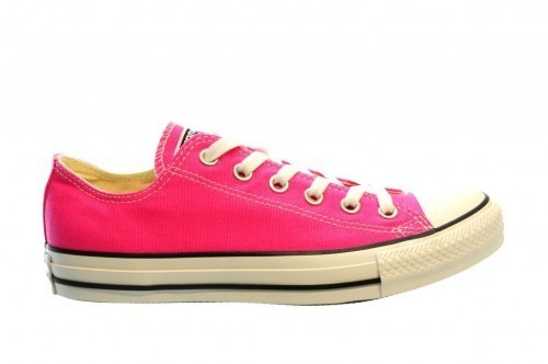 Converse All Stars Pink Paper