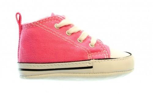 Converse First Star Hi Pink Baby
