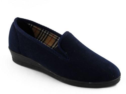 Dames Pantoffel Blauw Koyuk