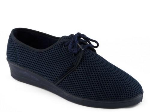 Dames Pantoffel Blauw Veter Koyuk