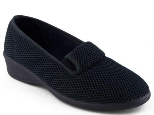 Dames Pantoffel Comfort Blauw Koyuk