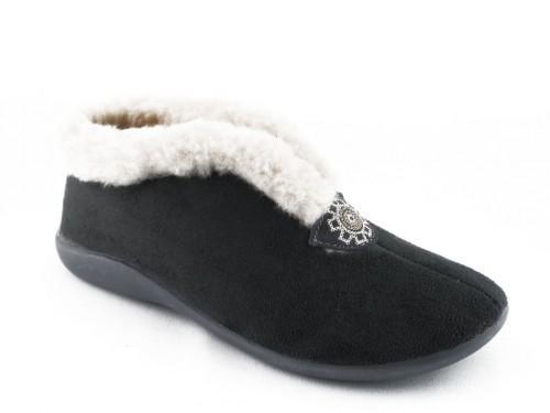 Dames Pantoffel Grijs Zoma