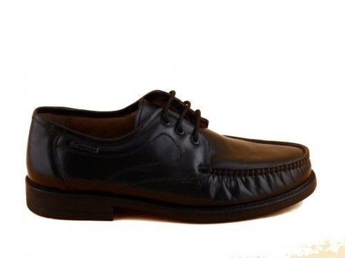 Geklede Herenschoenen Klassiek Zwart Leder