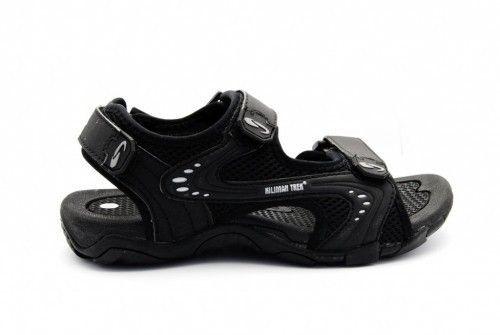 Goedkope Kindersandaal Zwart Velcro