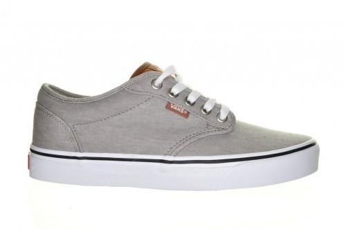 Grijze Canvas Sneaker Heren Vans