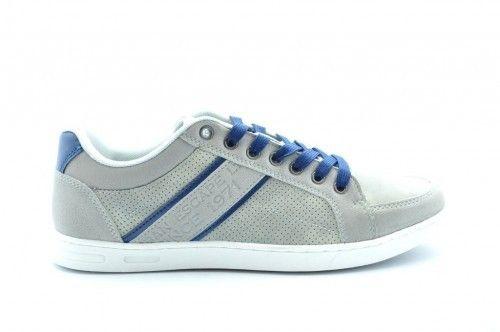 Grijze Heren Sneaker Casual