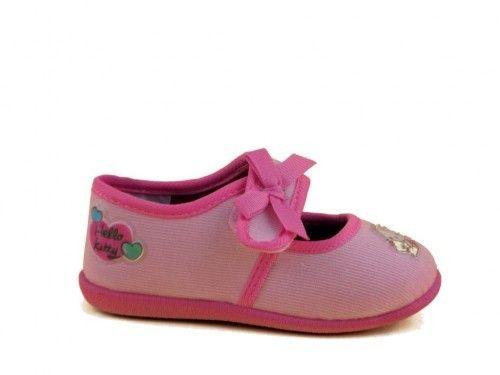 Hello Kitty Sloef Roze