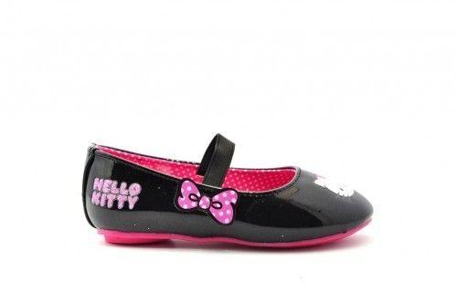 Hello Kitty Zwart Lak