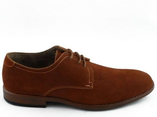 Herenschoen Brandy Suede Bottesini