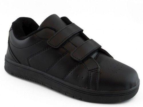 Herenschoen Zwart Sportief Velcro
