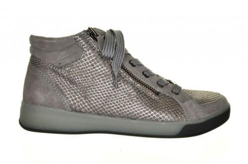Hoge Grijze Sneaker Comfort Ara