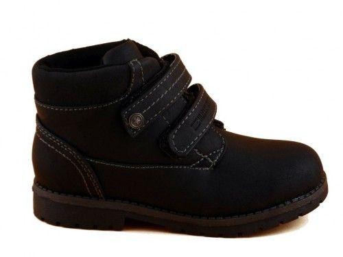Hoge Schoenen Velcro Zwart Kinderen