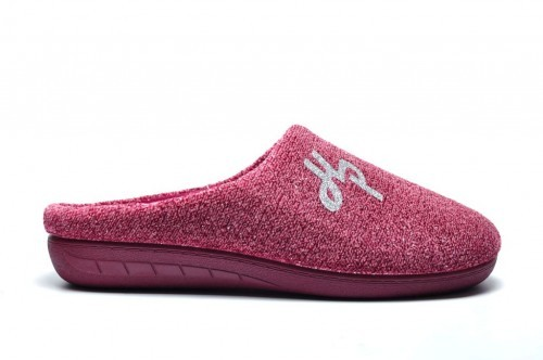 Hush Puppies Roze Pantoffel
