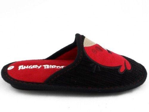 Kinderpantoffel Angry Birds Zwart Rood