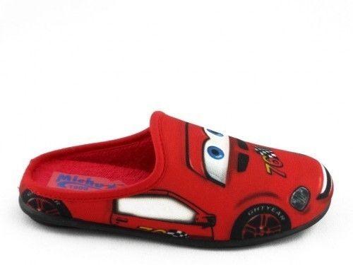 Kinderpantoffel Cars Rood