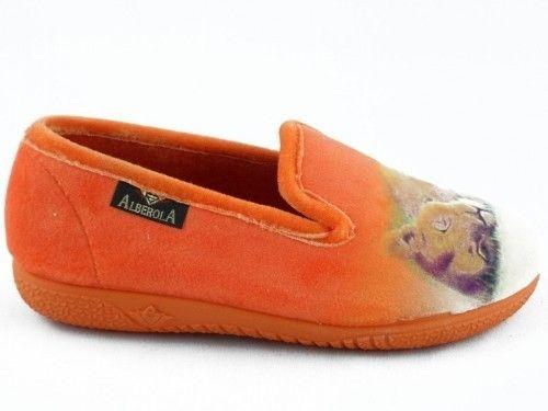 Kinderpantoffel Tijger Leeuw Oranje