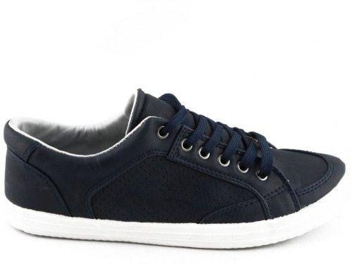 Kinderschoen Blauw Veter Bm Footwear