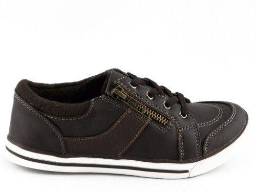 Kinderschoen Bruin Rits Velcro
