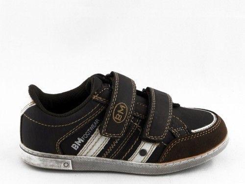 Kinderschoen Bruin Velcro Bm Footwear