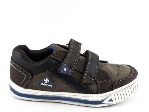 Kinderschoen Bruin Velcro Rebelious New 8teen
