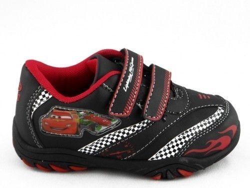 Kinderschoen Cars Velcro Zwart Wit