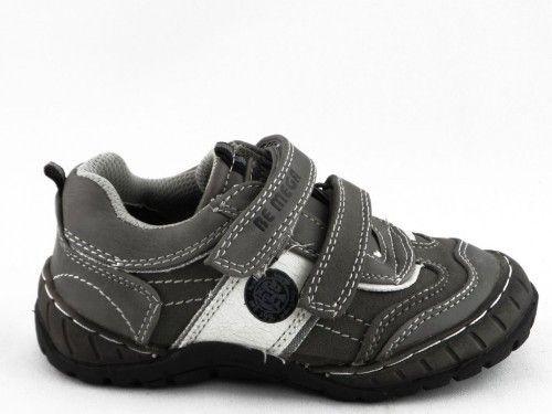 Kinderschoen Grijs Velcro Bm Footwear