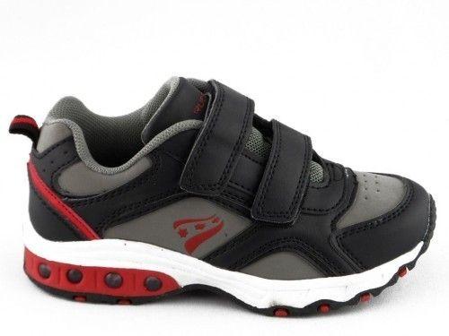 Kinderschoen Rucanor Zwart Grijs Lichtjes