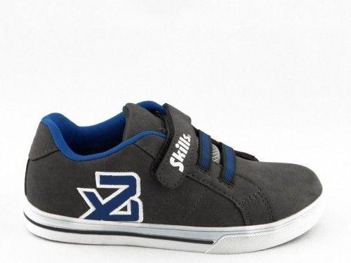 Kinderschoen Sneaker Skate Grijs Skills