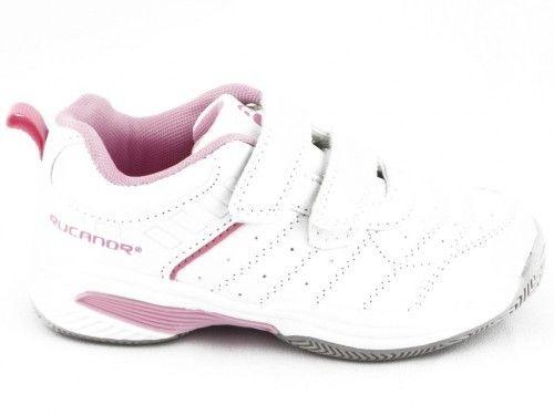 Kinderschoen Wit Roze Rucanor Velcro