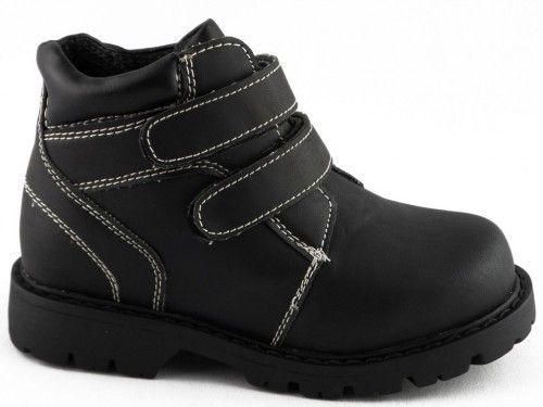 Kinderschoen Zwart School Velcro