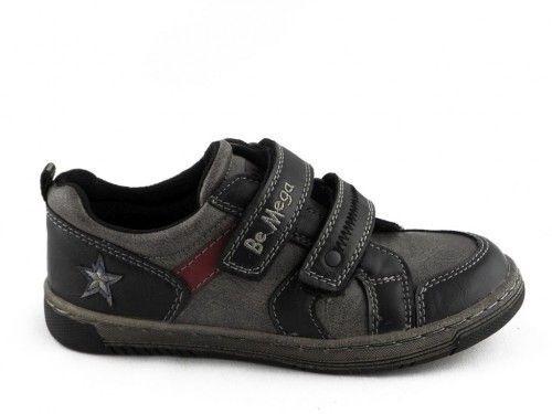 Kinderschoen Zwart Velcro Bm Footwear