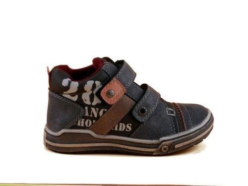 Kinderschoenen Jongens Velcro Grijs