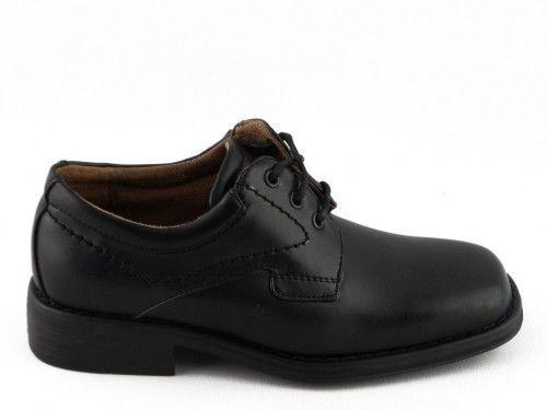 Kinderschoenen Klassiek Zwart Veter Bm
