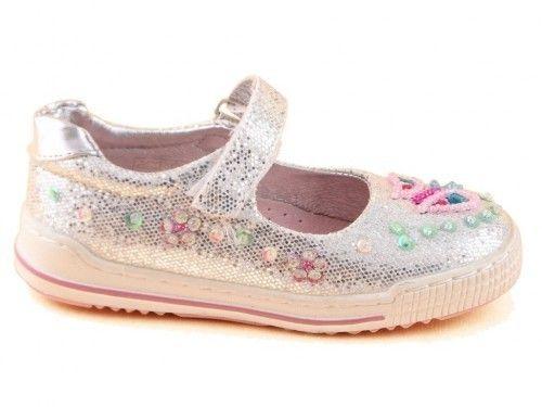 Kinderschoenen Zilver Ballerina