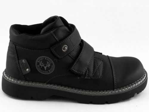 Kinderschon Zwart Velcro New 8teen