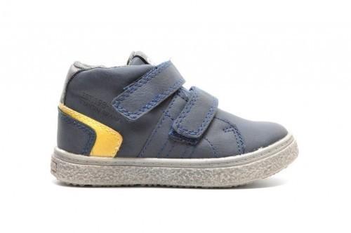 Kleine Sneaker Jongens Blauw Velcro
