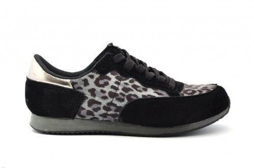 Leopard Grijs Sneaker