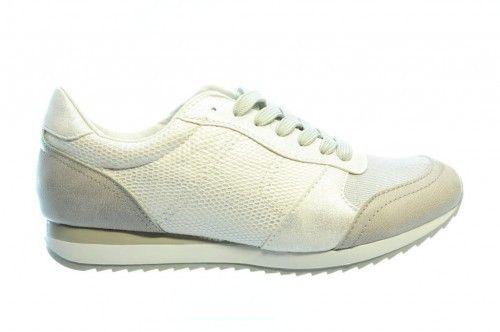 Licht Grijze Sneaker Croco